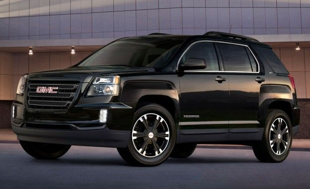Going Gentle Into That Good Night(fall): GMC Terrain Adds Darkened Special Edition for 2017.