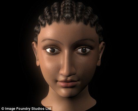 The Real Cleopatra   Sorry Liz, but THIS is the real face of Cleopatra   Mail Online