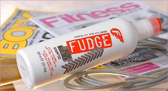 Fudge Body Builder szampon do włosów cienkich i delikatnych.