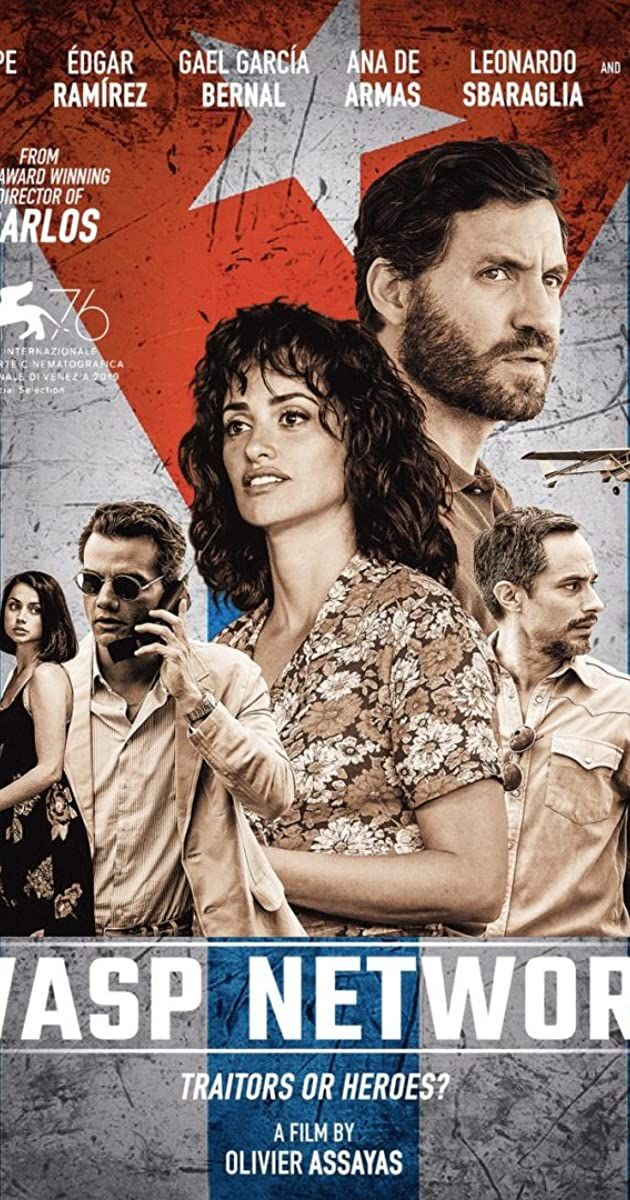 Directed By Olivier Assayas With Ana De Armas Wagner Moura Penelope Cruz Edgar Ramirez The Story Of Five Cuban Politica Olivier Assayas Film Thriller Film