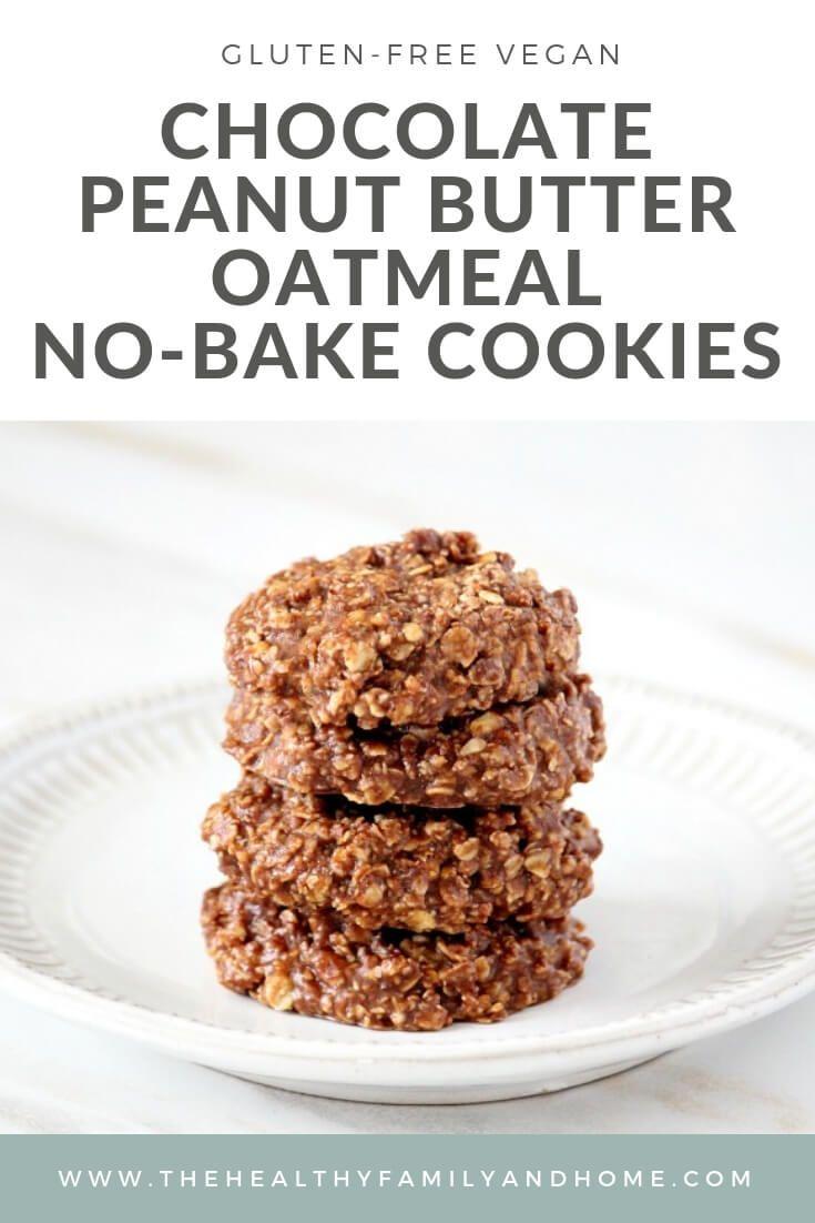 The Original Healthy Gluten Free Vegan No Bake Chocolate Peanut