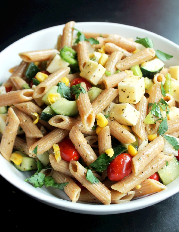 Veggie Italian Pasta Salad | Pasta Salad | Pinterest