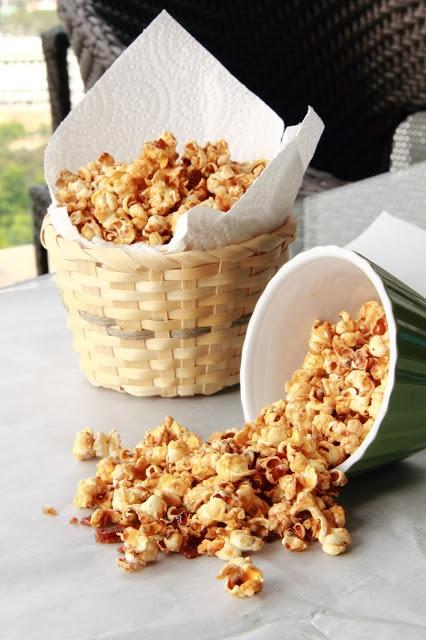 ... eats:SNACKS on Pinterest | Bacon, Bacon popcorn and Caramel puff corn