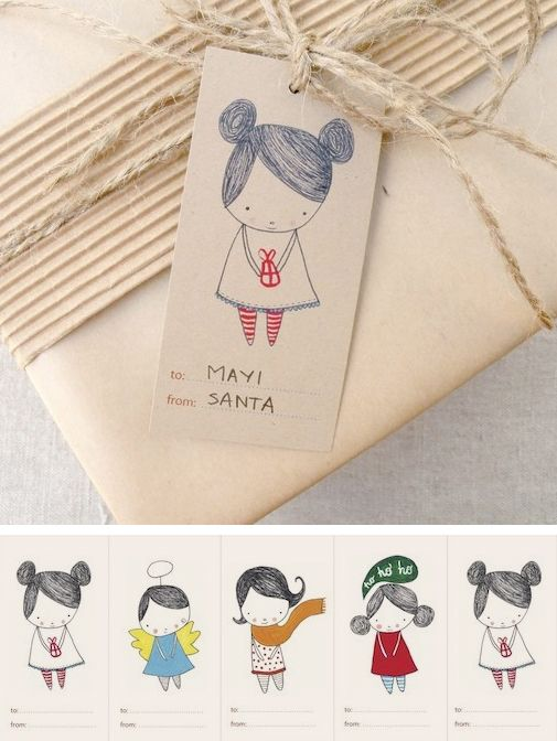 Cute gift tag printables <3