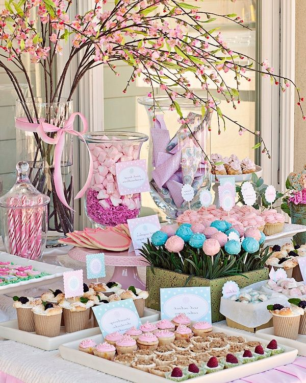 Baby Shower Themes For Girls Pinterest: Baby Girl Shower Ideas Decorations