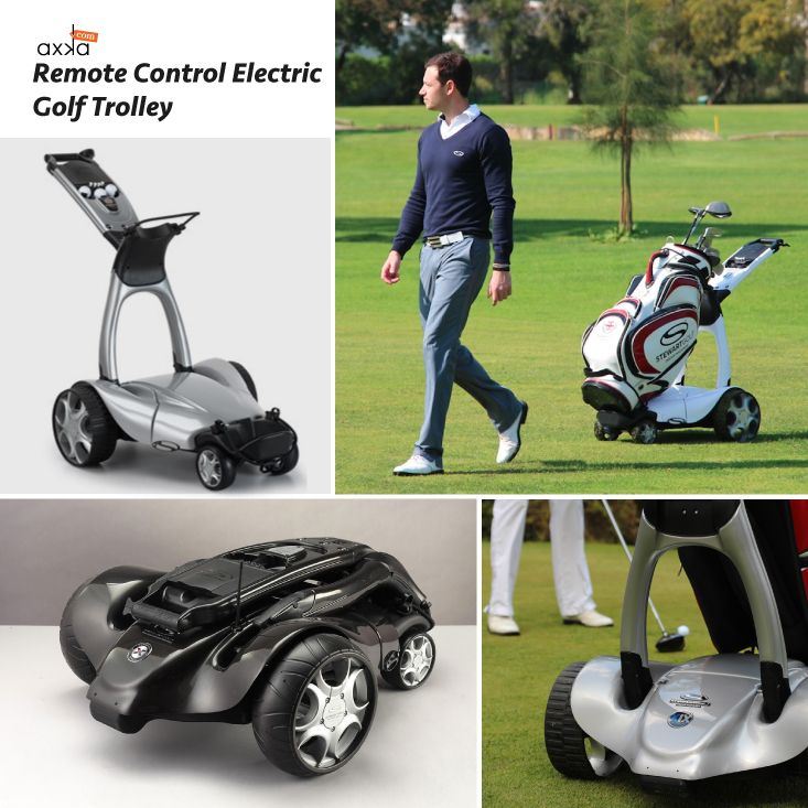 Get through the fairway in style with the Stewart Golf X9 remote control caddy.