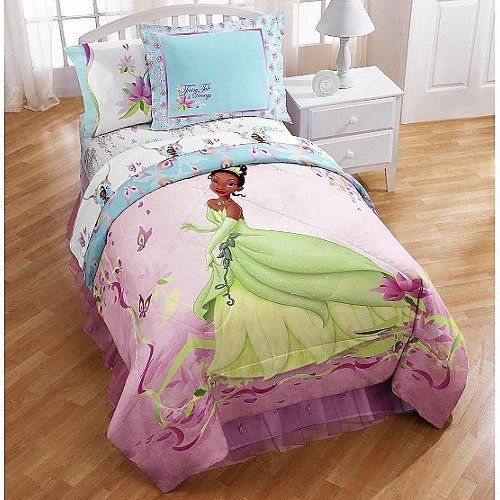 Disney Princess Tiana and the Frog Bedding Comforter Flat Sheet Fitted  Sheet Pillowcase. 226 best Cool Bedding Set images on Pinterest