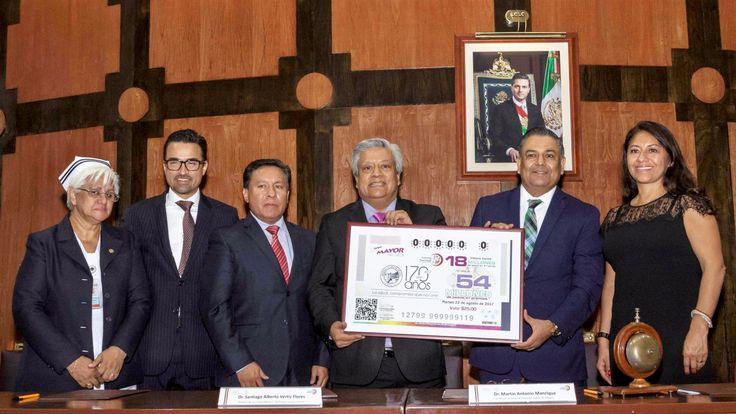 Lotería Nacional conmemoró el 170 Aniversario de la fundación del Hospital Juárez - http://plenilunia.com/novedades-medicas/loteria-nacional-conmemoro-el-170-aniversario-de-la-fundacion-del-hospital-juarez/46244/