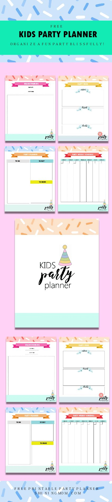 25+ best Kids party planner ideas on Pinterest | Birthday party ...