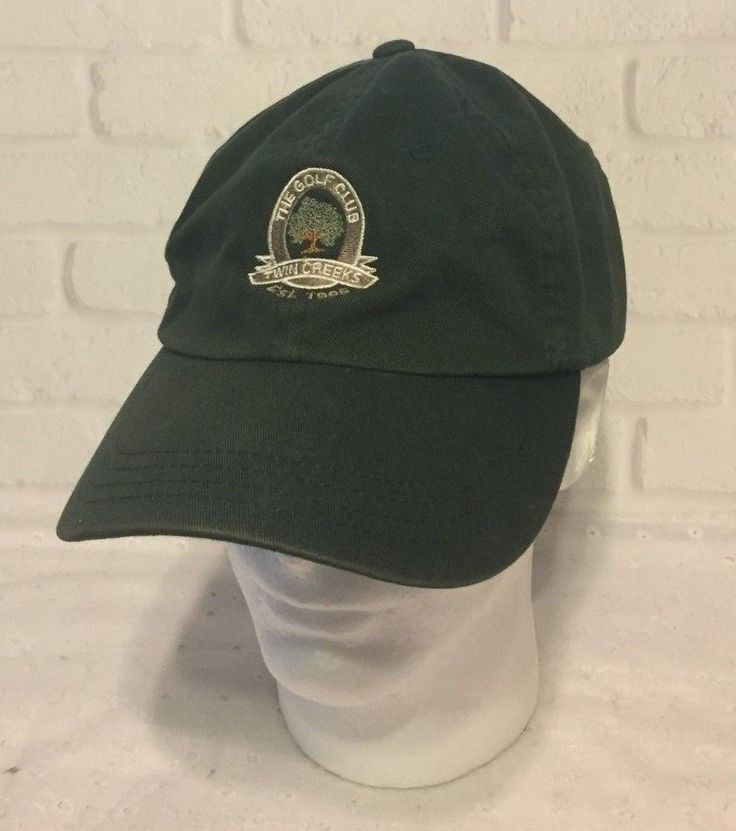 The Golf Club at Twin Creeks Allen Texas Baseball Cap Hat Strapback 100% Cotton #Imperial #BaseballCap