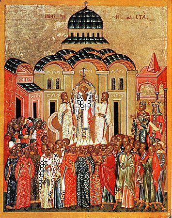 Exaltation of the Precious and Life-creating Cross / Воздвижение Честного и Животворящего Креста Господня. #Orthodox #icon