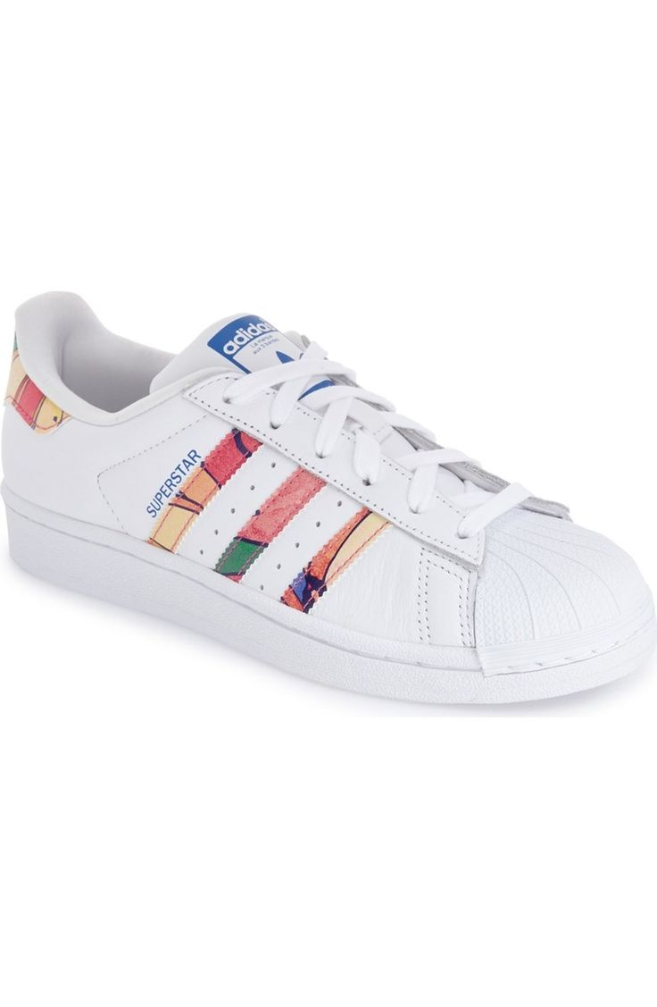 adidas 'Superstar' Print Sneaker (Women) available at