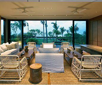 Beautiful designs of Arnalaya Beach House in Canggu.
