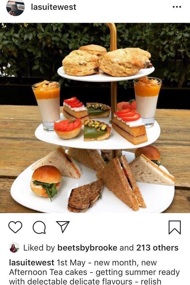 La Suite West London Vegan Restaurants Afternoon Tea Cakes Tea Cakes