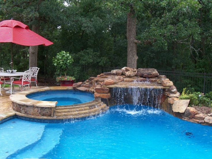 886 best images about Pools on Pinterest on Outdoor Living Pool And Spa id=77018