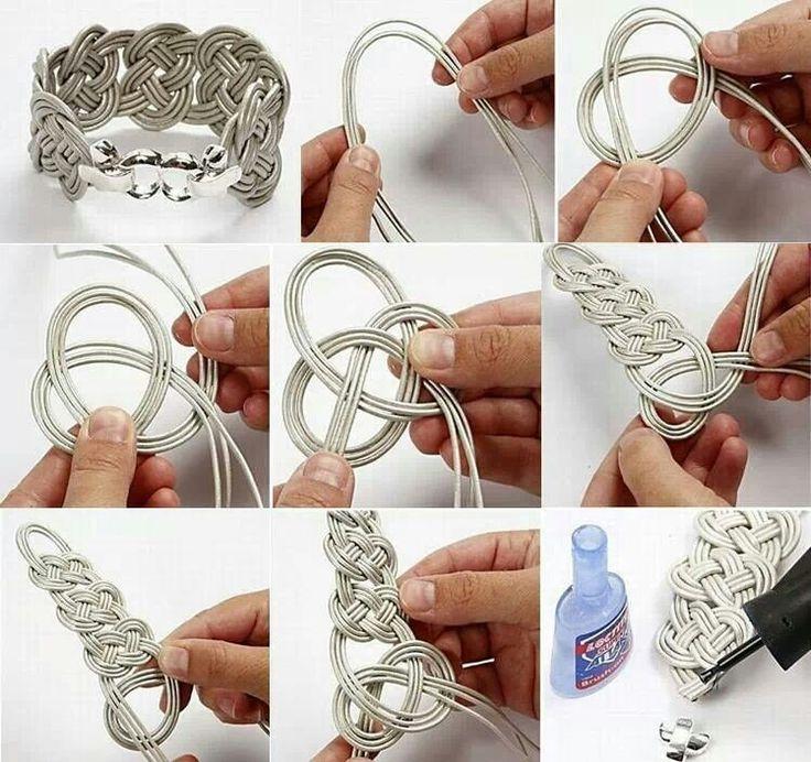 Pulsera nudos | 2-knots (nudos) y macrame | Pinterest | Bracelets, DIY Jewelry and DIY