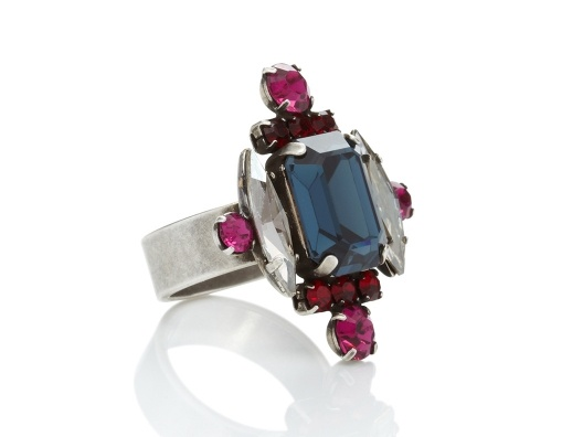 Janis by Janis Savitt Marquee Crystal Ring