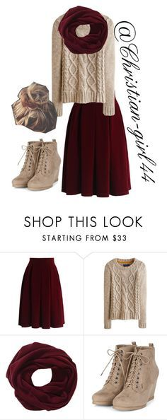 Apostolic Fashions #10 by christian-girl44 on Polyvore featuring mode, Joules and Chicwish