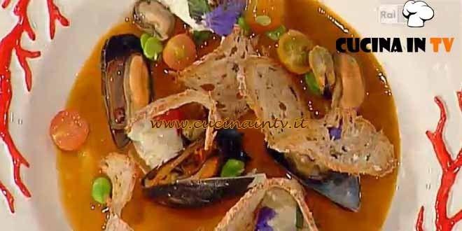 Pane alle alghe cozze e pecorino ricetta Pascucci da La Prova del Cuoco | Cucina in tv