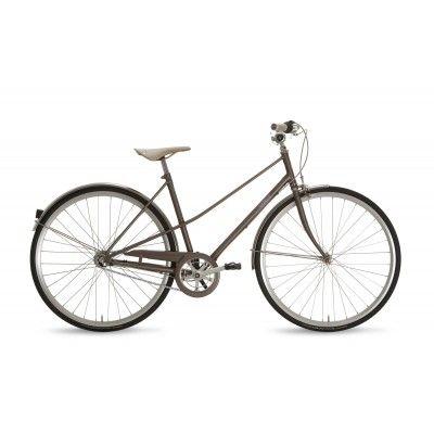 Rower Miejski Damski Gazelle Van Stael. Bardzo lekki i zwinny rower idealny na długie pozamiejskie wycieczki i nie tylko. http://damelo.pl/damskie-rowery-miejskie-stylowe/178-rower-miejski-damski-gazelle-van-stael.html
