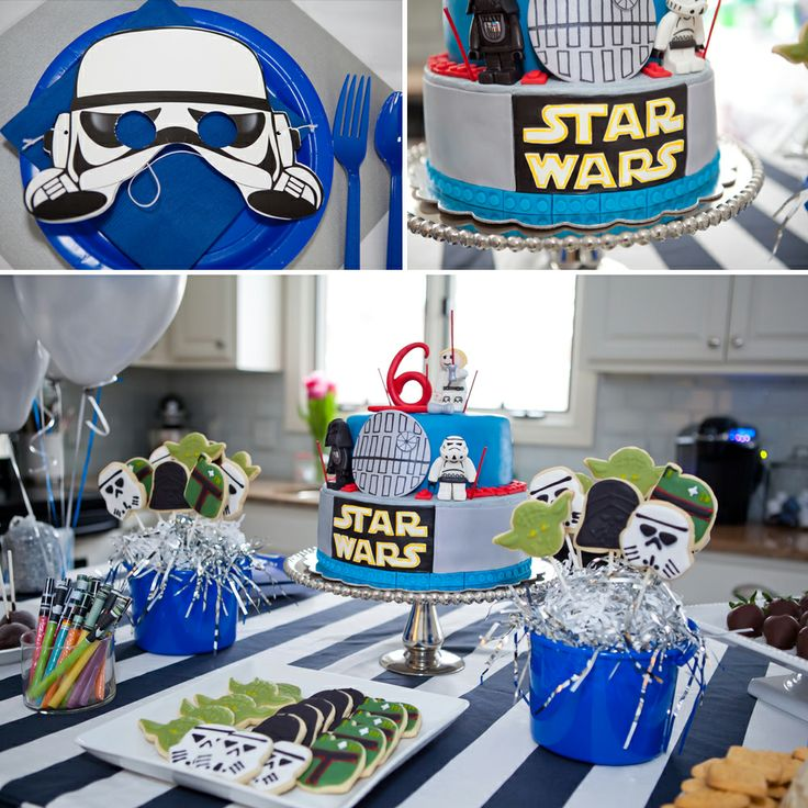 Julie marie portraits a star wars birthday party jack turns 6 julie marie portraits - Decoration table theme star wars ...