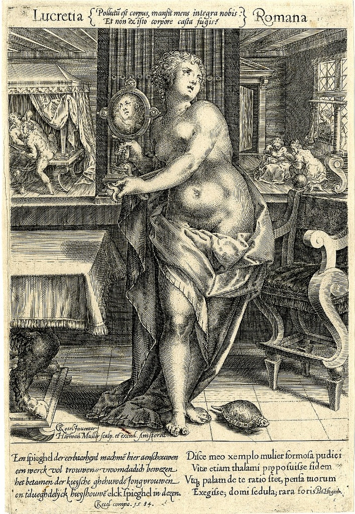 Lucretia. Cornelis Ketel, 1584