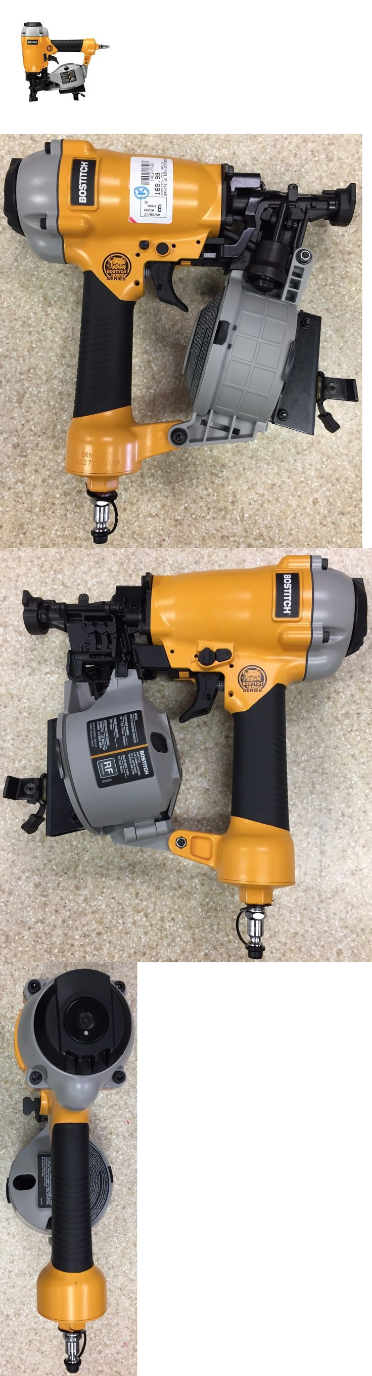 Roofing Guns 42243: **Brand New** Bostitch (Brn175) Bulldog 1-3 4 Pneumatic Coil Roofing Nailer -> BUY IT NOW ONLY: $169.99 on eBay!