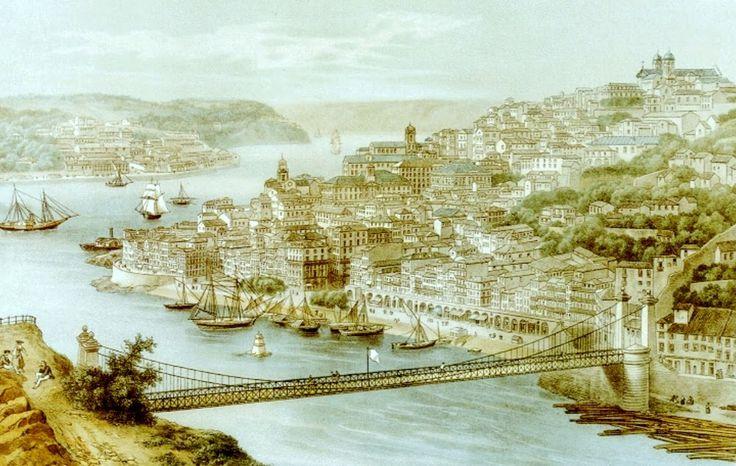 Serviu de ligação entre o Porto e Gaia durante 45 anos e ainda hoje é possível ver alguns dos seus vestígios nas margens do Douro. Falamos da Ponte Pênsil.