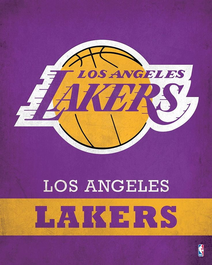 Los Angeles Lakers Logo $24.99