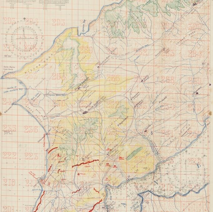 Gallipoli: Map published by the War Office in 1915.
