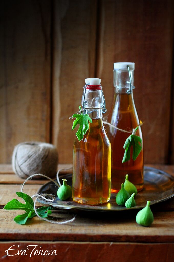 Fig leaves syrup