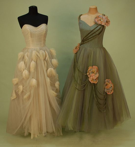 Ballgowns from the 1950s