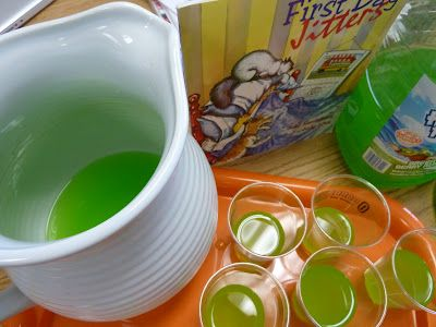 Jitter Juice! {a great first day activity}