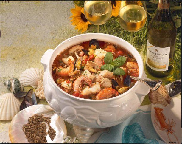 Die besten 25+ Cioppino rezept Ideen auf Pinterest Meeresfrüchte - ideen für küchenwände