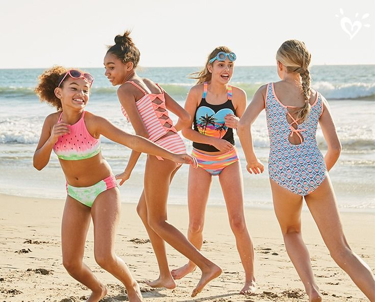 Ready, set...SPRING into splashy surfside styles in tankinis, biknis and swimsuits.
