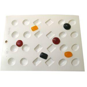 Gem/Cough Drop Hard Candy Mold