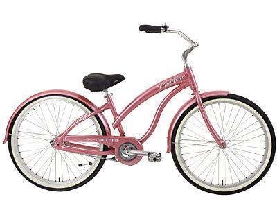 Pink Cadillac !!: Dreams Bike, Cadillac Bike, Cool Bikes, Bike It, Bicycles Women'S, Eldorado Bicycles, Beach Cruiser Bikes, Girly Bike, Bikes Trikes Plus