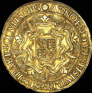 the Gold Coins of Elizabeth I