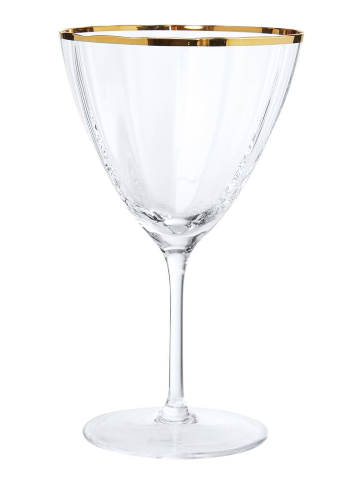 Buy your Biba Gold Rim Optic Crystal Wine Glass online now at House of Fraser. Why not Buy and Collect in-store?