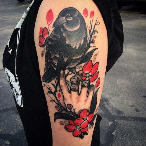 210 best tattoo rabe images on pinterest tattoo ideas raven tattoo and ravens. Black Bedroom Furniture Sets. Home Design Ideas
