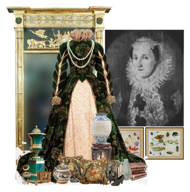"""Alice Barnham, Viscountess St Albans"" by sh0shan ❤ liked on Polyvore featuring Soicher Marin, NOVICA and Dolce&Gabbana"