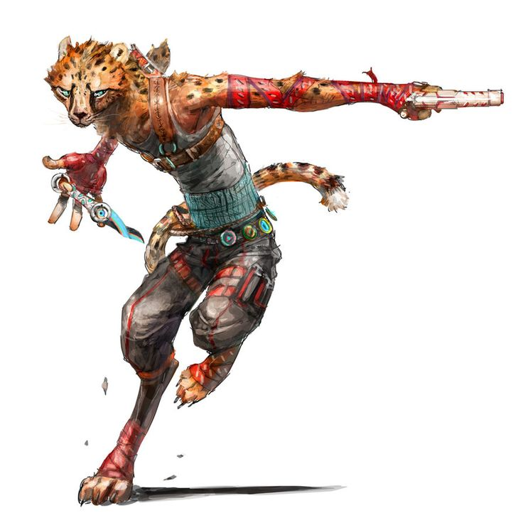 j.fax (updated) by kian02: Cheetahs, Cat Warrior Fantasy ...