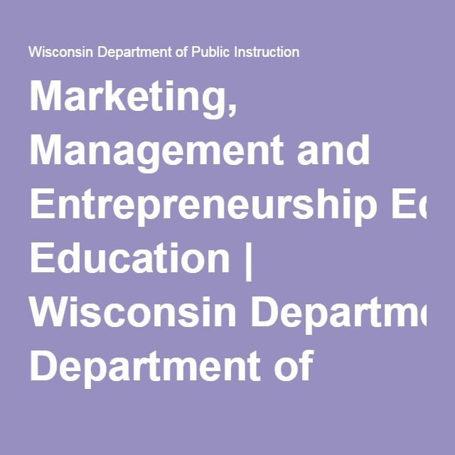 wisconsin department of instruction