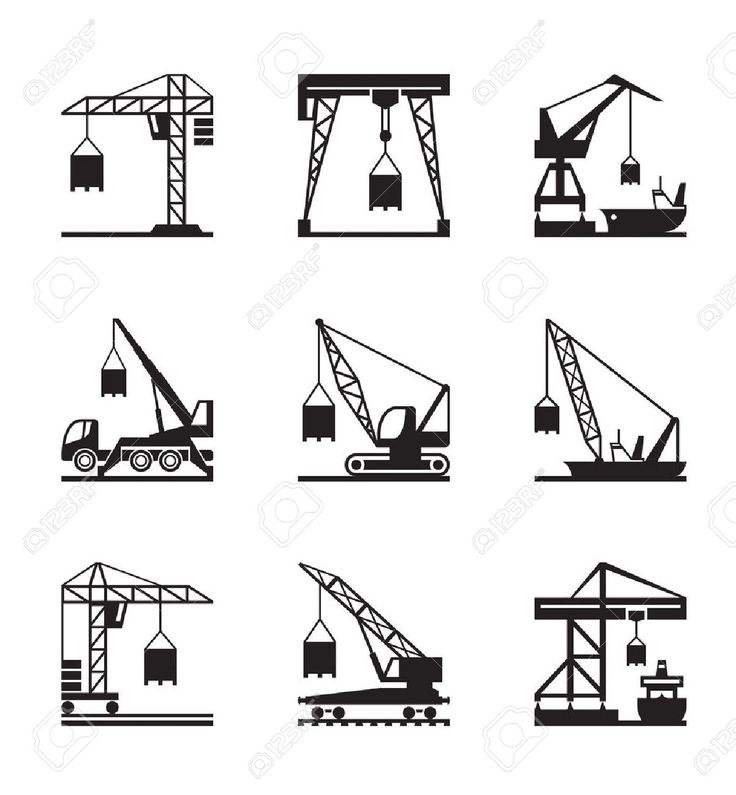 Image result for TYPES OF CRANES
