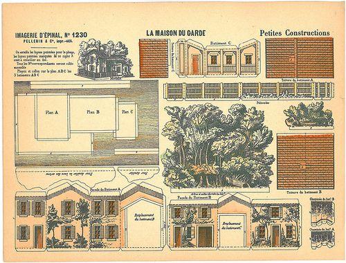 230 best Epinal, lu0027 imagerie Pellerin, images on Pinterest - jeux de construction de maison en d
