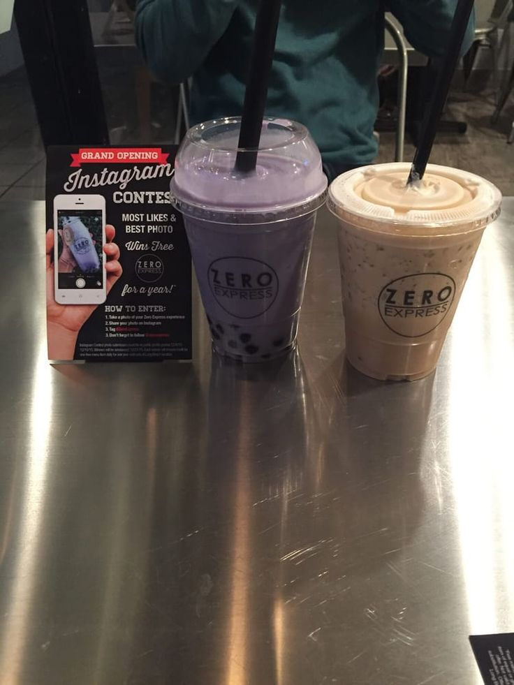 Photo of Zero Express - Long Beach, CA, United States. ube milk BLENDED and house coffee! Yum!