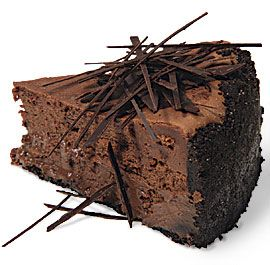 Extreme Chocolate Cheesecake .. uh oh: Desserts, Chocolates Cheesecake Recipes, Extreme Chocolates, Dark Chocolates, Cheesecake Decade, Fine Cooking, Chocolates Shard, Chocolate Cheesecake, Cheese Cakes