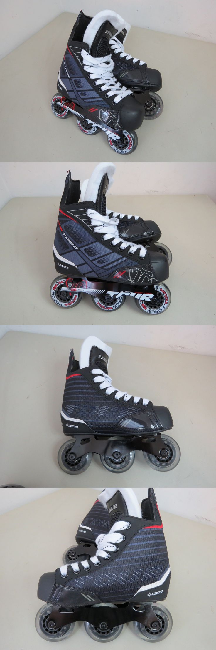 Roller Hockey 64669: Tour Hockey Fb-225 Junior Roller Hockey Skates, Size 1 Youth - New Without Box -> BUY IT NOW ONLY: $40 on eBay!