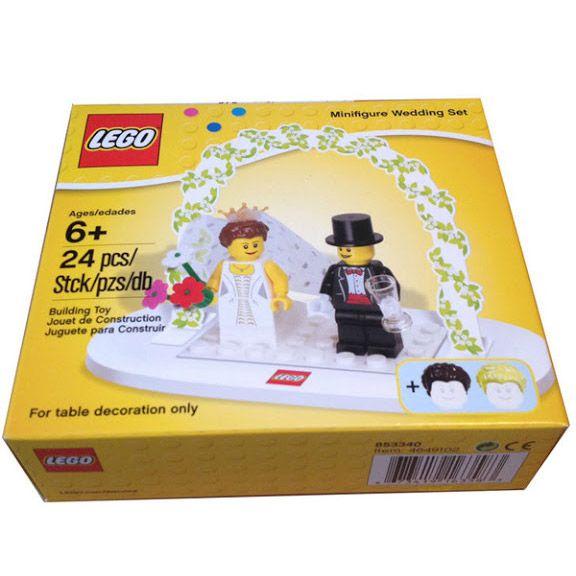 Do Choi LEGO 853340 Minifigure Wedding Favor Set Co Dau Chu Re
