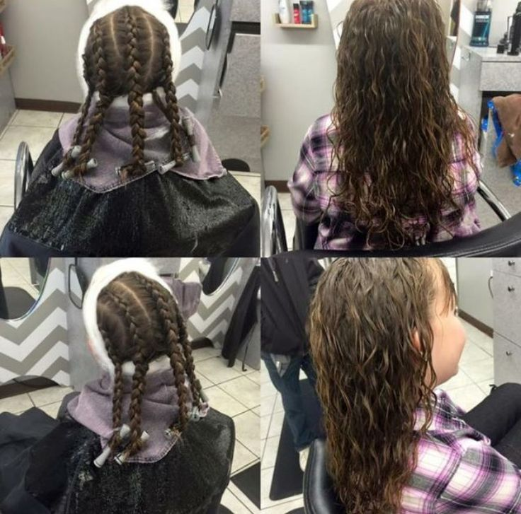 spiral perm wrapping instructions